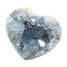 Celestine or celestite is a mineral consisting of strontium sulphate. The mineral is named for its occasional delicate blue colour. Celestite is the principal source of the element strontium, commonly used in fireworks and in various metal alloys. It is a member of the Barite Group of minerals.   It offers a gentle uplifting energy that will raise one's awareness. It is an effective stone to use in order to establish and maintain communication with the angelic realm. #Madagascar