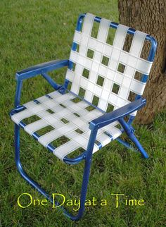 How To Repair Chair Straps And Webbing Pinterest