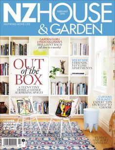 Now The Latest NZ House & Garden February 2015 issue can be grab Online from: