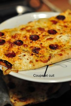 Pizza aux trois fromages spicy !