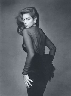 Cindy Crawford Vogue France 1987 More