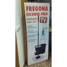 Expositor Fregona Spin Mop - Mayorista de Articulos anunciados en TV