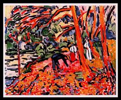 Maurice de Vlaminck was a French painter. Along with André Derain and Henri Matisse he is considered one of the principal figures in the Fauve movement, a group of modern artists who from 1904 to 1908 were united in their use of intense colour. Henri Matisse, Andre Derain, Raoul Dufy, Piet Mondrian, Fauvism Art, Maurice De Vlaminck, Georges Braque, Rene Magritte, Pointillism