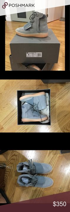 Yeezy boost 750 Gray Yeezy Boost 750, i have worn before but they're a bit snug. Purchased them from a footlocker employee for discounted price Yeezy Shoes Sneakers