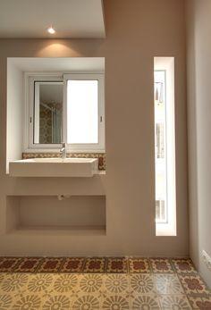 PISO MOZART : Espacios de estilo moderno de Lara Pujol | Interiorismo & Proyectos de diseño