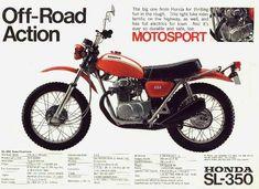 1970 Honda SL-350 - Google Search
