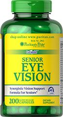 Senior Eye Vision <p>Gives you the nutritional support you need for healthy eyes**</p><p>Features Lutigold™ Lutein, a pure, natural form of Lutein that is non-genetically modified</p><p>Lutigold™ Lutein supports clear, healthy vision**</p><p>Includes a full range of vitamins for antioxidant support, including eye-healthy Vitamin A**</p><p>Contains more than 20 vitamins, minerals, herbs and amino acids</p>   200 Capsules  $39.99