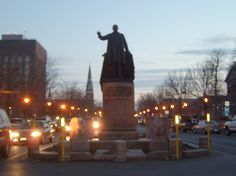 Downtown Watertown NY | Watertown, NY : Roswell P Flower statue in downtown Watertown photo ...