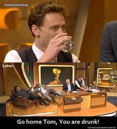 Tom Hiddleston, Chris Hemsworth & Mark Ruffalo in Germany April, 2012