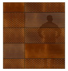 acier corten perfore t x u r pinterest texture. Black Bedroom Furniture Sets. Home Design Ideas