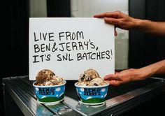 ¡Dulce tributo! La cadena de mantecados Ben  Jerry's lanzó sabores inspirados en el famoso programa de comedia Saturday Night Live: http://www.sal.pr/?p=95651
