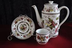 """English - Staffordshire Midwinter """"Jacobean"""" Part Coffee Set for sale in Johannesburg (ID:109125304)"""