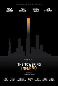 The Towering Inferno - minimal movie poster - rob3rtarmstrong.deviantart.com