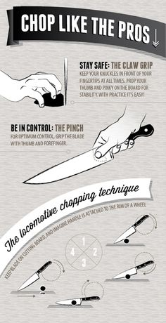 A Crash Course to Knives, from Choosing Blades to Chopping O.-A Crash Course to Knives, from Choosing Blades to Chopping Onions [Infographic] A Crash Course to Knives, from Choosing Blades to Chopping Onions [Infographic] Cooking 101, Cooking Videos, Cooking With Kids, Cooking Tools, Cooking Classes, Cooking Recipes, Cooking Games, Cooking School, Cooking Steak