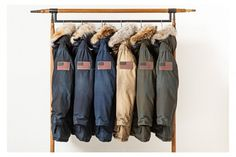 "WOOLRICH JOHN RICH & BROS. ""AGED"" PARKA COLLECTION"