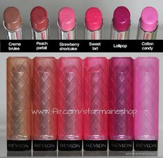 Revlon Lip butter. Just picked one of these up, color payoff is amazing and it is so smooth and moisturizing.