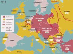Voor de oorlog begint, hebben Frankrijk, Engeland en Rusland al een bondgenootschap gesloten, de Triple Entente. Als Servië de oorlog verklaard wordt, roept het land de hulp in van Rusland. Rusland voelt zich verwant met Servië vanwege de Slavische achtergrond. Frankrijk sluit zich aan en als België aangevallen wordt, doet ook Engeland mee met de strijd. Italië loopt in 1915 over. De Verenigde Staten doen vanaf 1917 mee aan de oorlog en samen zijn ze de geallieerden.