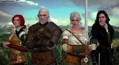 The Witcher 3: Wild Hunt by GothicGamerXIV.deviantart.com on @DeviantArt