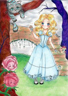 I found myself in Wonderland by My-Anne on deviantART