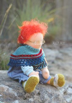 eloi in deep thought doll by winterludes (photo ©karyn maisymoo)