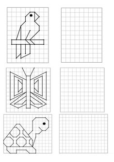Coding For Kids, Math For Kids, Fun Math, Kids Math Worksheets, Math Activities, Cross Stitch Patterns, Quilt Patterns, Visual Perception Activities, Graph Paper Art