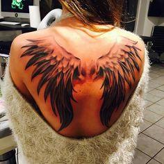 Flügel Rücken Tattoo