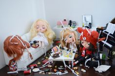 https://flic.kr/p/x5bJAk | Before | A before and after pictures of a bachelorette theme for a photo contest on Blythecon Vancouver 2015.