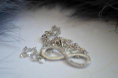 Infinity Neckalce Infinity, Charmed, Brooch, Jewellery, Bracelets, Earrings, Fashion, Ear Rings, Moda