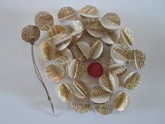 French Dots  Vintage French Paper Garland by futtatinni on Etsy, $10.00