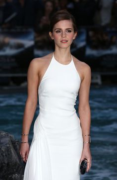 "celebstarlets: 3/31/14 - Emma Watson at the ""Noah"" Premiere in... - These are a few of my favorite things..."