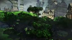 A suggestive video showing off TheAlfier's watercolor shader #madeinitaly #indiegames #videogames
