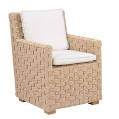 Kingsley-Bate: Elegant Outdoor Furniture. St. Barts dining armchair