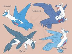 cheeziesart:Latias and LatiosDraconic Latis reside in the mountains and in elevated caves. They're rather aggressive and territorial in nature and prefer to keep by themselves. They can only use sight share after a strong bond has been formed with their mate, which they use to locate each other for the rest of their lives.Marine Latis reside in the sea or occasionally live on remote islands. They're extremely social and use sight share to locate other marine latis, as it comes natural to…