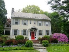 colonial exterior landscapes - Google Search