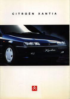 https://flic.kr/p/EboeMb | Citroen Xantia; 1995_1 | front cover car brochure by worldtravellib World Travel library
