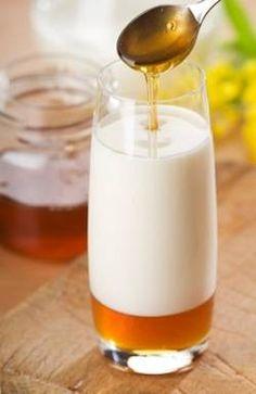 Milk and honey sleep remedy