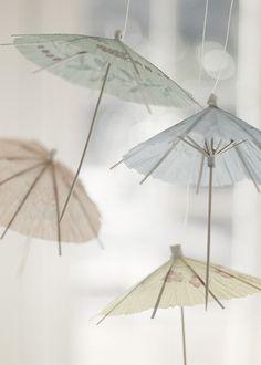 cocktail umbrellas//