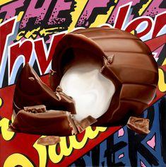 james rawson visualizes pop culture through painting + collage