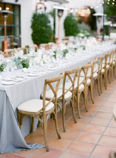 Gray gorgeousness: http://www.stylemepretty.com/2015/02/12/romantic-ivory-grey-ojai-valley-inn-wedding/ | Photography: Diana McGregor - http://www.dianamcgregor.com/