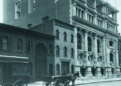 The West 44th Street Clubhouse opened in 1901. Designed by Whitney Warren -- it was his first commission, later he designed Grand Central Terminal  New York Yacht Club