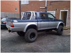 L200 warrior pickup