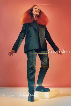 Grace Coddington for Calvin Klein