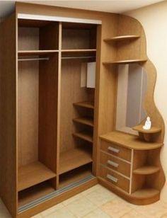 Super Diy Bedroom Wardrobe Ideas Cupboards Ideas - Image 21 of 22 Wardrobe Design Bedroom, Diy Wardrobe, Bedroom Furniture Design, Bedroom Wardrobe, Home Decor Furniture, Diy Bedroom, Wardrobe Ideas, Bedroom Corner, Corner Wardrobe