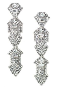 For a versatile look that's sure to impress however you wear it, try the Casablanca Chandeliers from Stella & Dot. These chandelier earrings convert to studs.