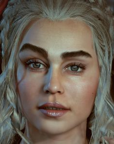 Khaleesi:The throne is mine! Realtime character Unreal engine 4