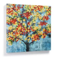 Abstract Tree Outdoor Wall Art