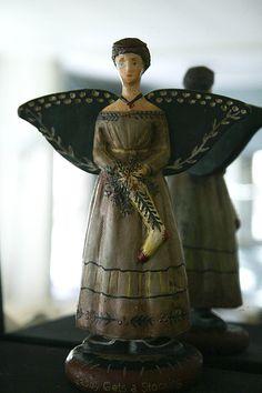 Folk Art Angel by Laura Ryan