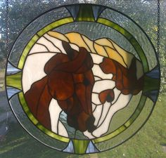 Stained Glass Horses by Jaochim