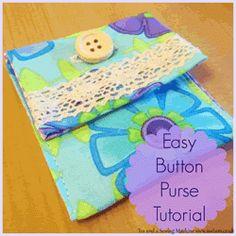 PicMonkey Collage button purse