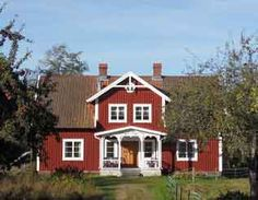 Exterior scandinavian house sweden ideas for 2019 Swedish Cottage, Red Cottage, Swedish Style, Swedish Design, Exterior Paint Colors For House, Paint Colors For Home, Red Houses, Tiny Houses, House Color Palettes